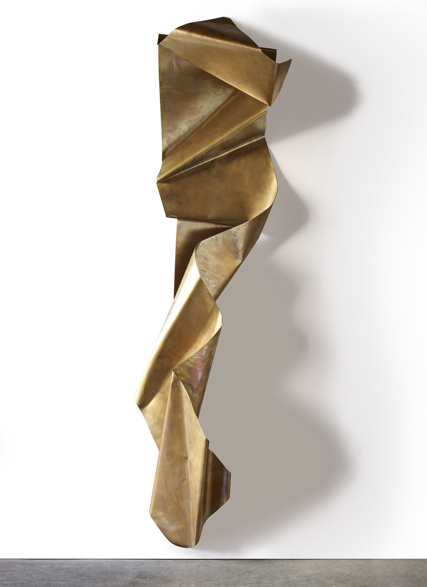 "Crunch Wall Series #4, 24"" x 108"" x 24"" deep