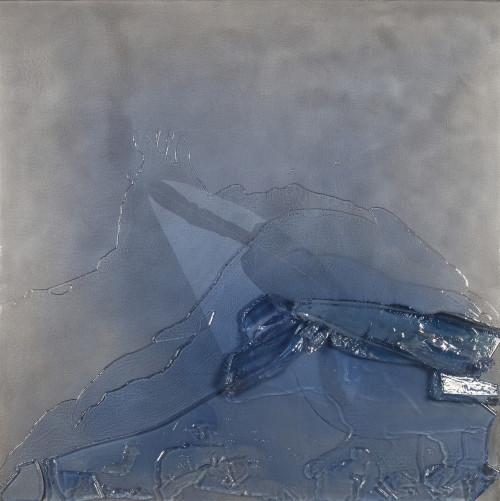 #411 Break-up_Ice Water 53x53