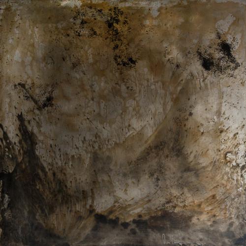 #82 (Untitled) Acid on Steel