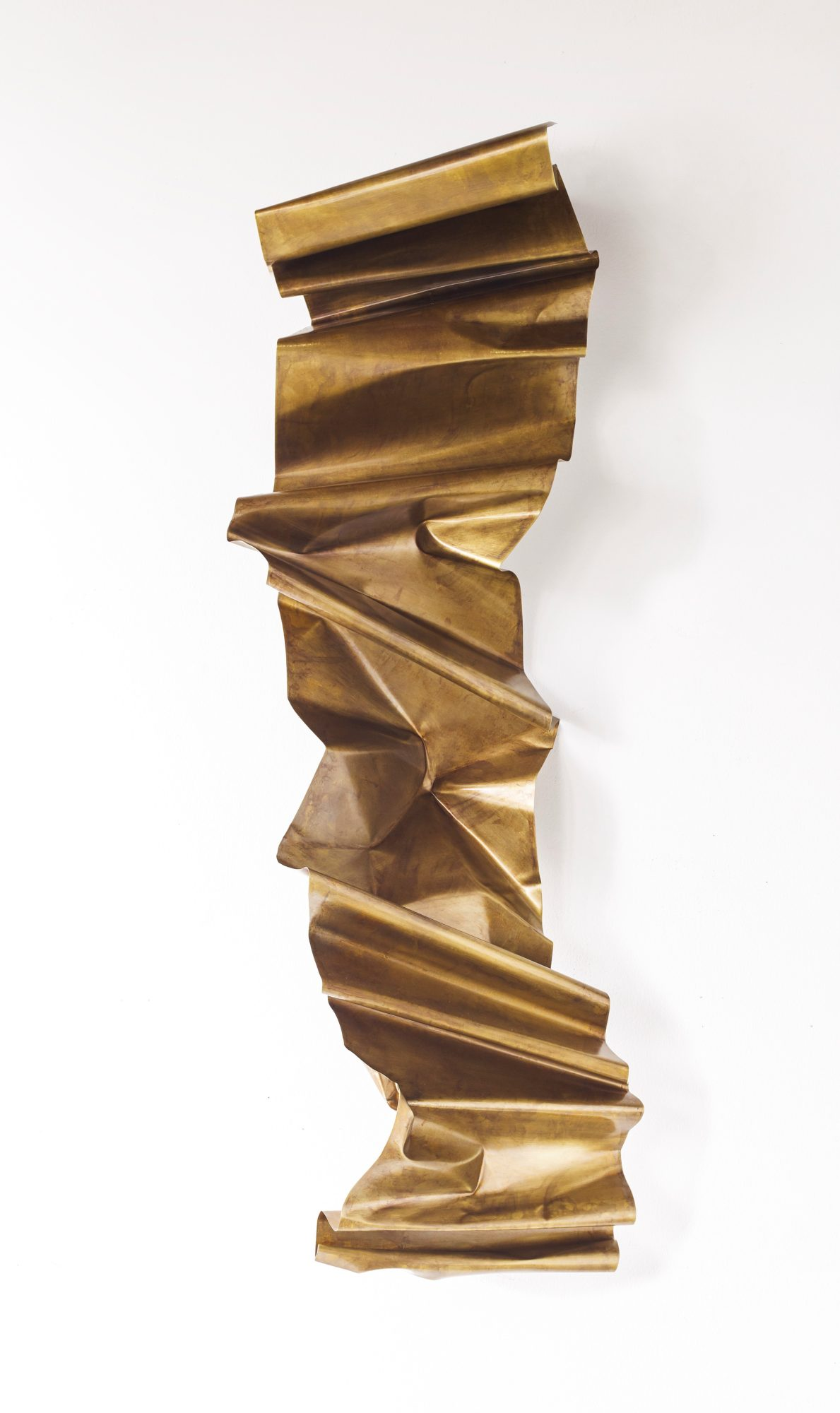 "Crunch Wall Series #8, approx 15"" x 50"" x 9""